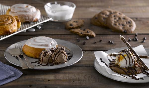 Freddo lança sobremesas com cookies e cinnamon roll