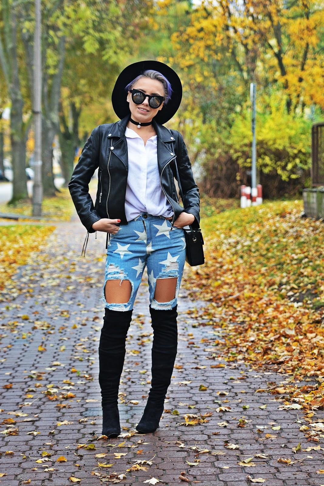 jeansy_w_gwiazdki_buty_za_kolano_czarna_ramoneska_karyn45