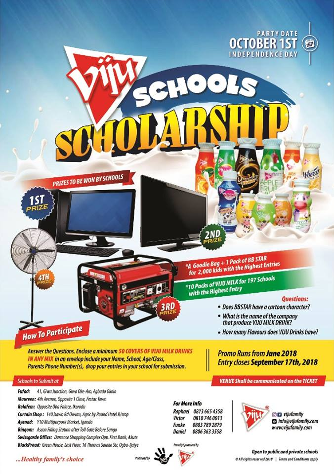 Viju Schools Scholarship
