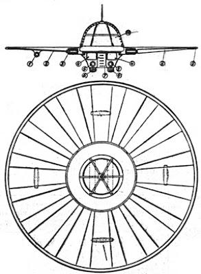 Il disegno originale del disco di Klein