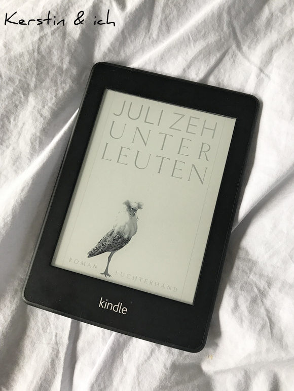Buchcover E-Book Unterleuten Juli Zeh Kindle