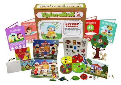 Educational Activity Boxes For kids by Vibhu & Me