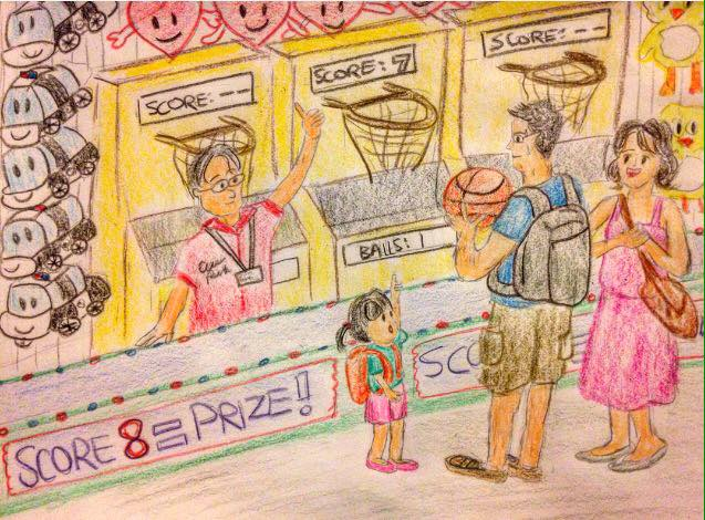 family art drawing sketch funny