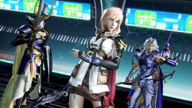 Los personajes de Dissidia Final Fantasy NT en vídeo