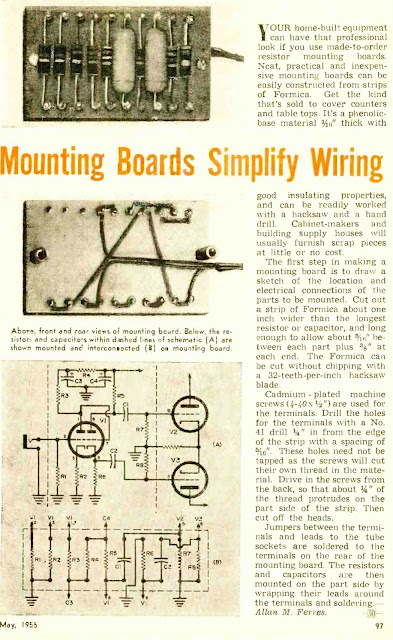 Mounting Boards Simplify Wiring