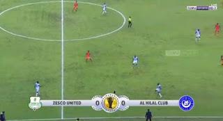 ملخص واهداف مباراة الهلال وزيسكو يونايتد 1 - 1 الاحد 24-02-2019 كأس الكونفيدرالية الأفريقية