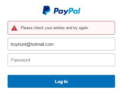 gagal login paypal