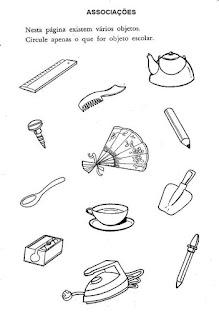Atividade associação de objetos