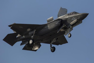 """Τα πρώτα ετοιμοπόλεμα F-35B σύντομα έτοιμα """"για κάθε ενδεχόμενο"""" απέναντι από την Β. Κορέα"""