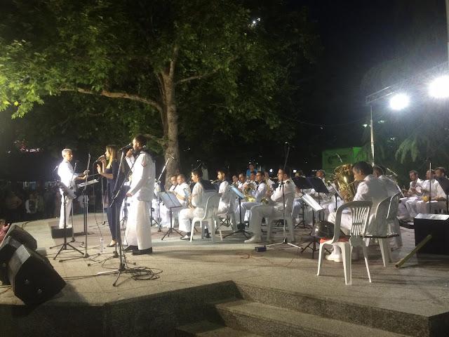 Με την συναυλία της μπάντας του Πολεμικού Ναυτικού ολοκληρώθηκαν οι εκδηλώσεις για τον Άγιο Αχίλλιο