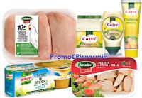 Logo Stampa nuovi buoni sconto Knorr, Amadori e Calvè