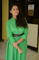 Geethanjali in Green Dress at Mixture Potlam Movie Pressmeet March 2017 042.JPG
