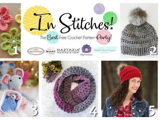 In Stitches - Best Free Crochet Pattern Party Week 2 Link Up Party