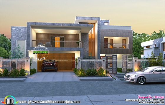 Nice box type luxurious house