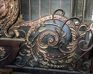 Terima pesanan Ornamen Alferon Besi Tempa Terbaru dengan motif dan desai Khusus untuk pembuatan Pintu, Pagar, Gerbang, Railing, Balkon, Tangga Layang