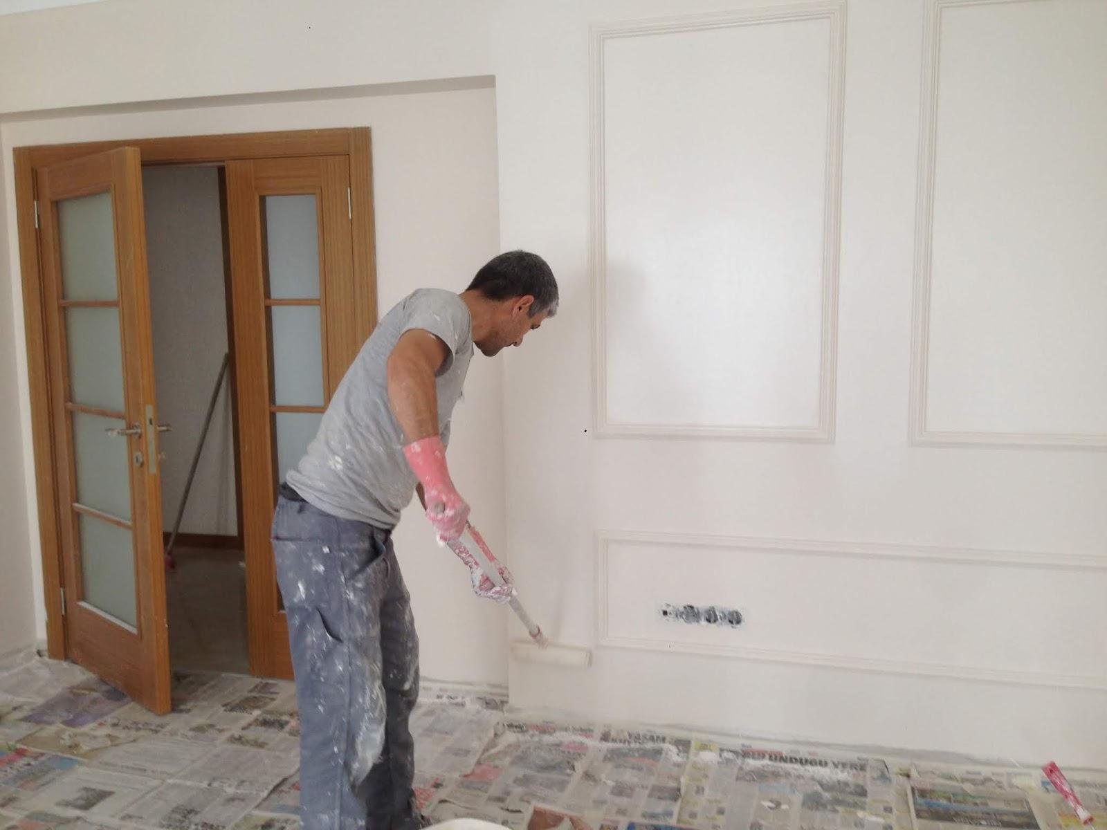 Rüyada Yabancı Başkasının Büyük Evini Çok Boyadığını Mekânda Görmek