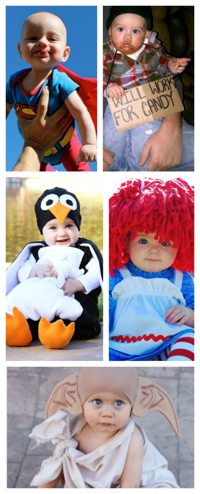 25 UTTERLY ADORABLE COSTUMES FOR BABY.  So many unique and creative ideas here.