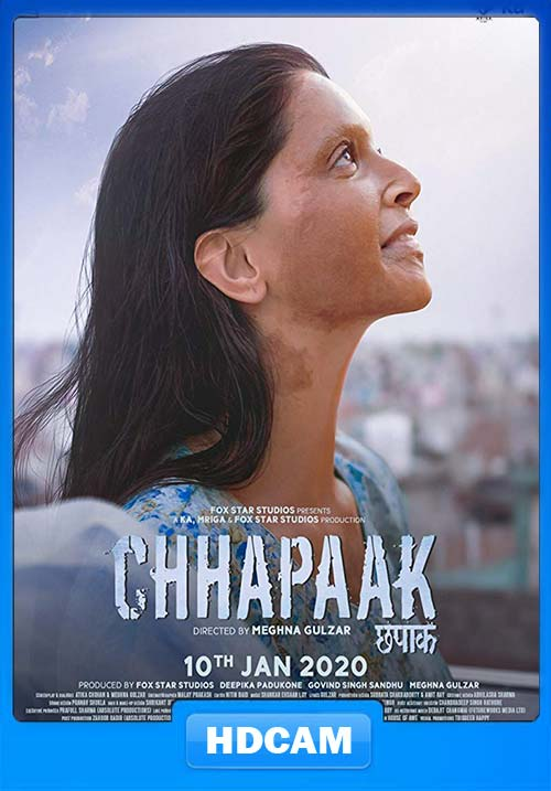 Chhapaak 2020 Hindi PreDVD x264 | 480p 300MB | 100MB HEVC