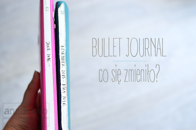 bullet journal zmiany Annikowo