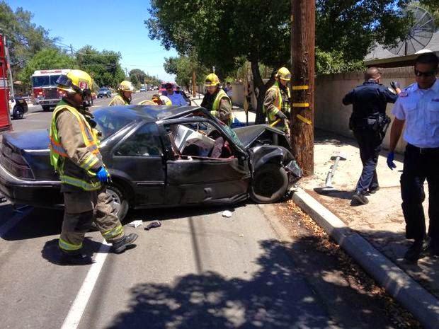 Fresno Visalia Bakersfield Accidents: May 2014