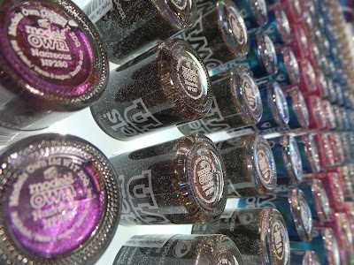 bottles of Models Own Nail varnish