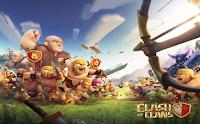 Gambar Sosok Misterius di Game Clash of Clans