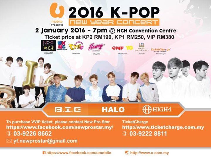 [PRESS RELEASE] 2016 K-Pop New Year Concert - kloseUP