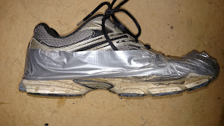 Extend the Life of Your Shoes with Duct Tape