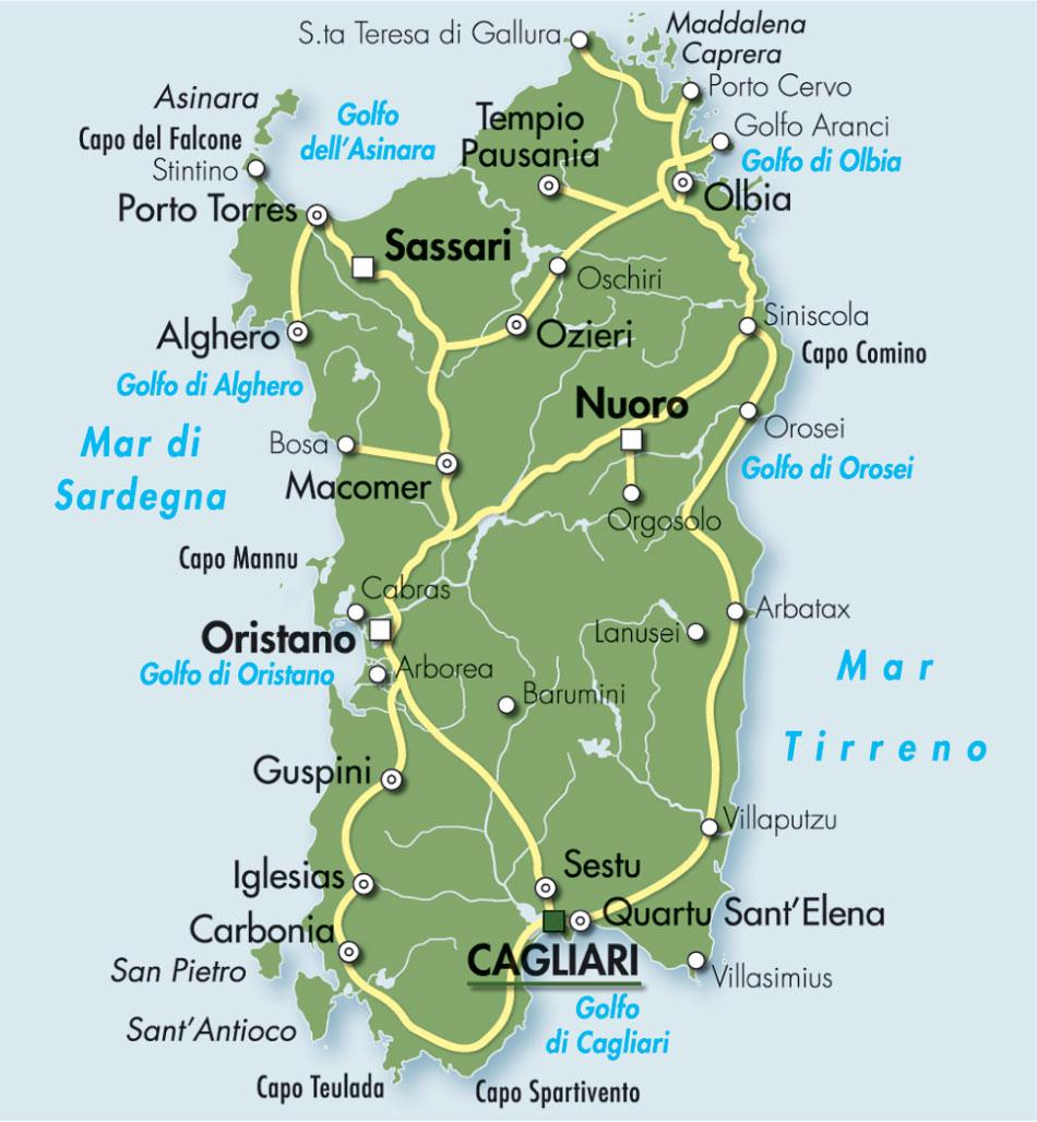 Amicomario l origine e la storia delle antiche sub for Isola che da il nome a un golfo della sardegna