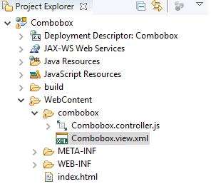 SAP UI5 - Starters: Simple ComboBox in SAPUI5