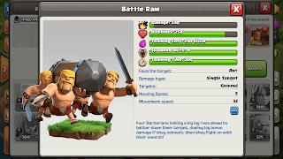 Battle Ram - Clash of Clans