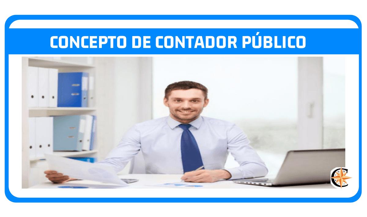 Concepto de contador público