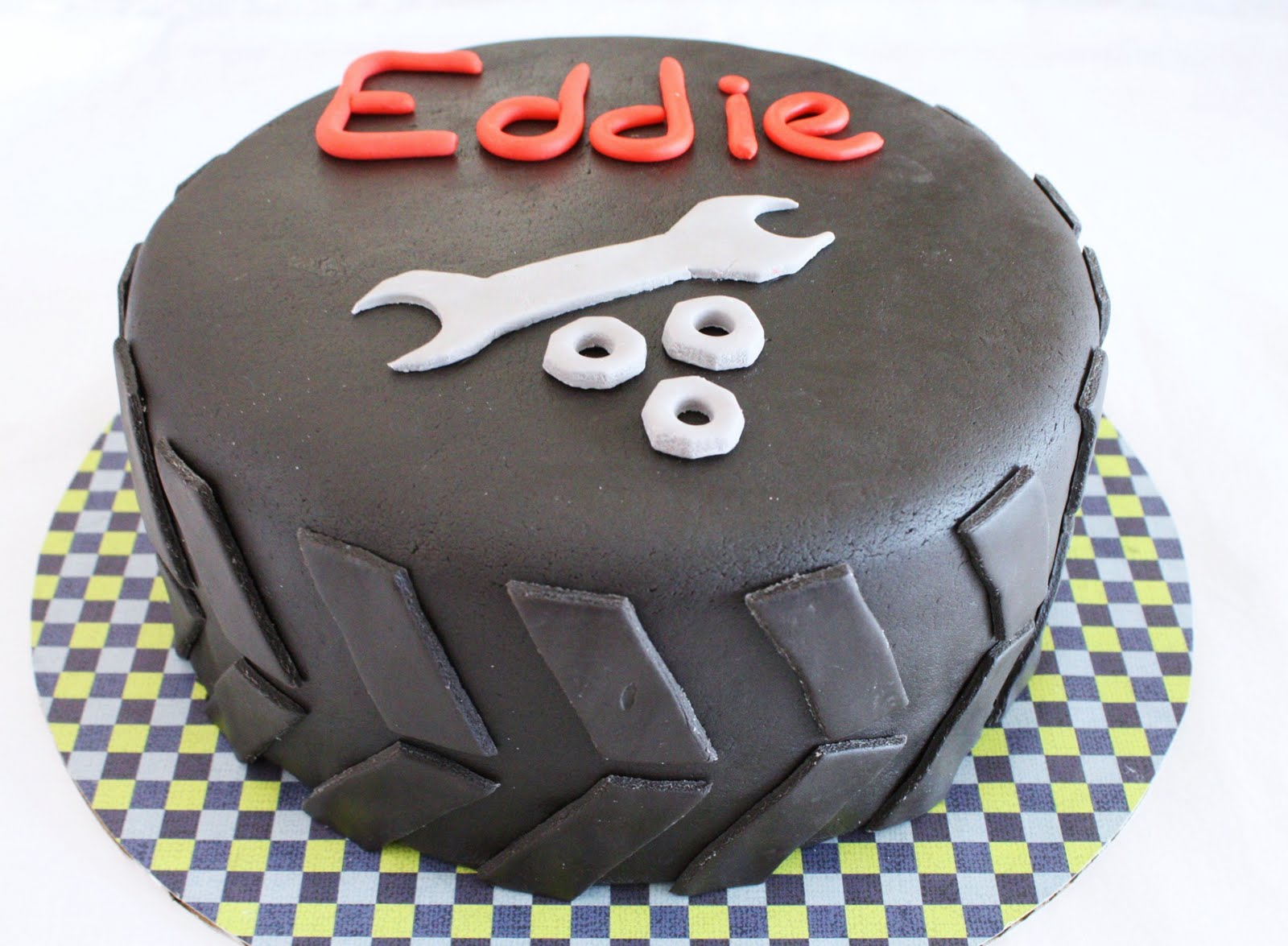 Mechanic Cake Ideas