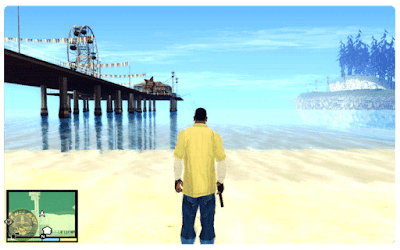 GTA V HD Graphics In GTA San Andreas Mod (Download Free)
