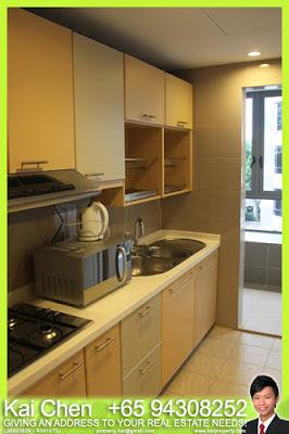 Fortville Service Apartment Singapore - Kitchen