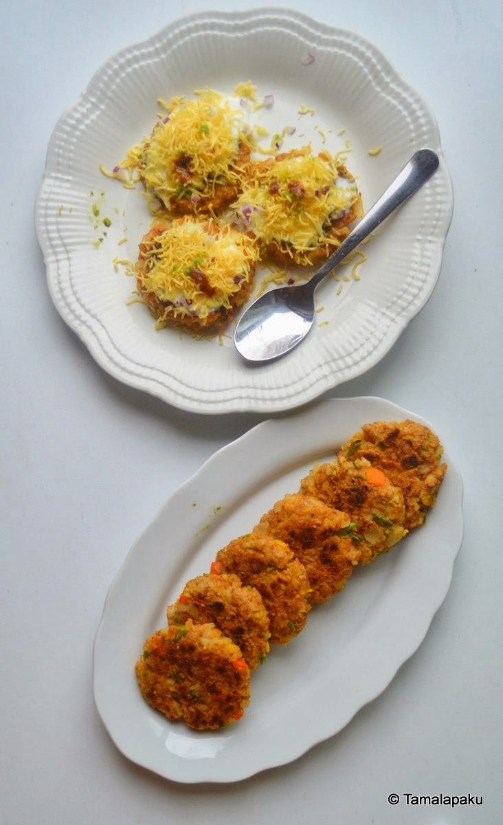 Pasta-Chickpea Cutlets