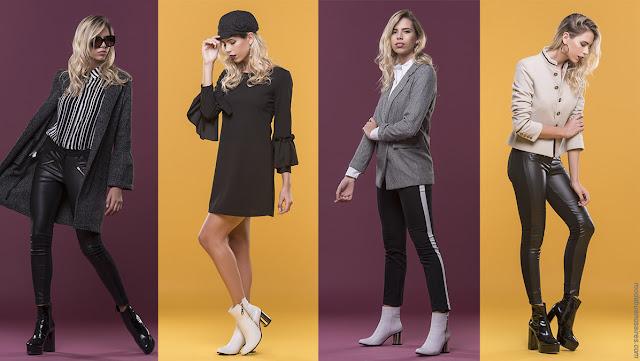 Moda otoño invierno 2018 | Ropa de mujer, looks casuales urbanos. Última moda en vestidos, pantalones, blusas y abrigos.
