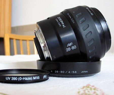 Lens minolta 28-80 xi for sony a mount