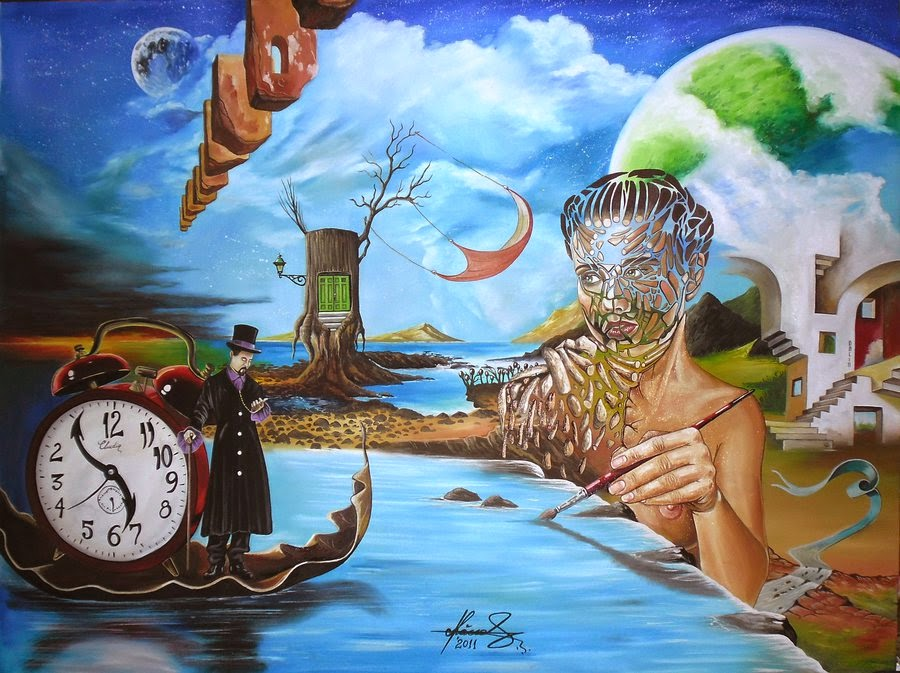 17-Stranger-in-stranger-Land-Raceanu-Mihai-Adrian-Surreal-Oil-Paintings-www-designstack-co