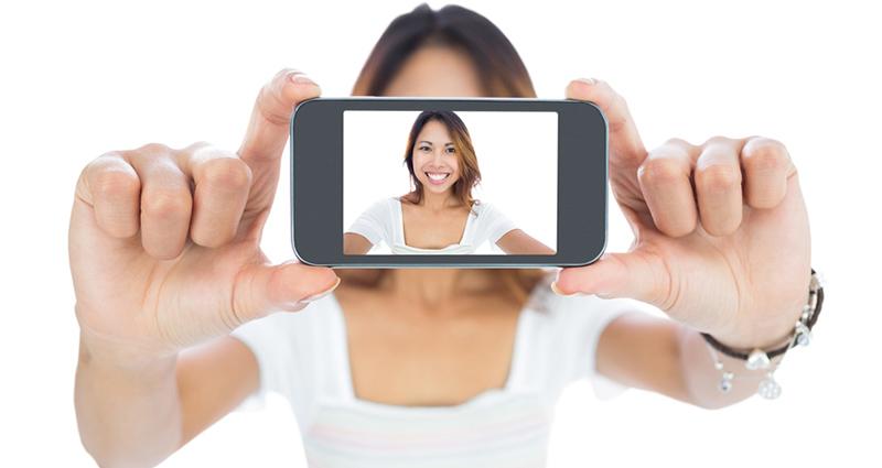 O selfie ou a selfie