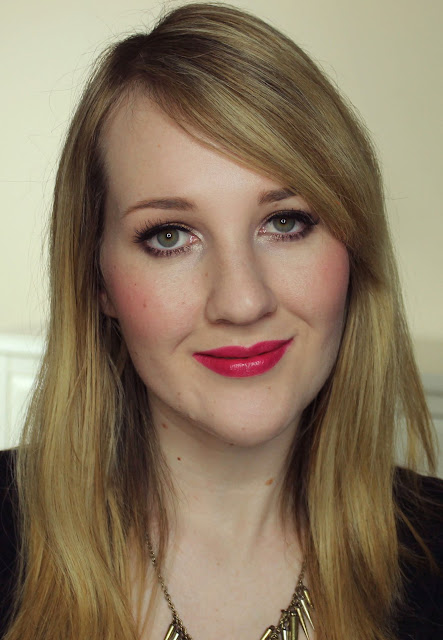 Jordana Lipstick - Cherry Swatches & Review