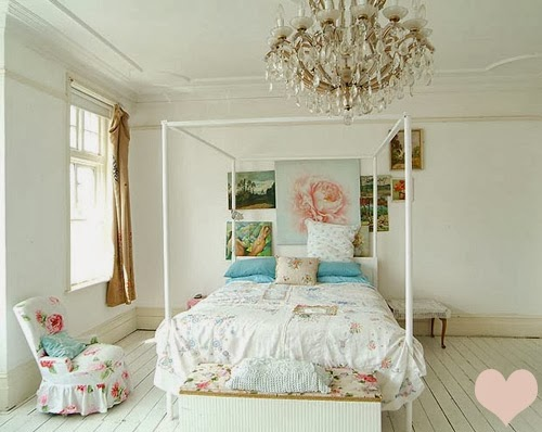 dormitorio Shabby-chic