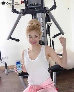 Gambar Keren Hyoyeon SNSD di Gym