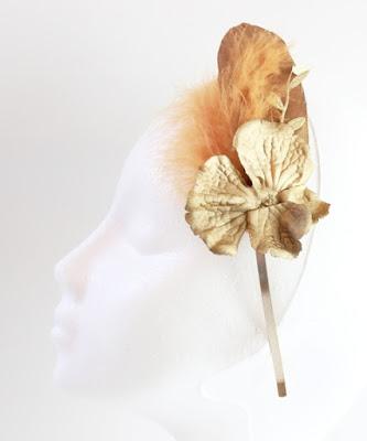 OI 1617 - Coleccion Oro - Diadema Tocado