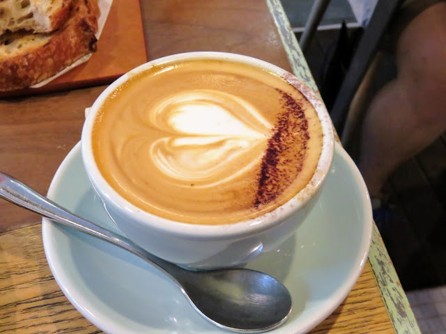 cappuccino from Common Man Coffee Roasters in Singapore