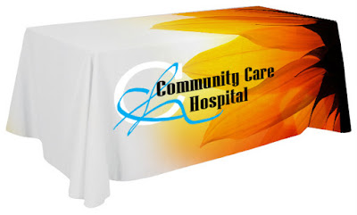 Full Color Table Cover Example | Banners.com