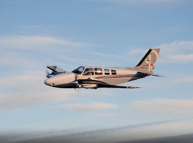 Beechcraft Baron G58 Twin-Piston Engine