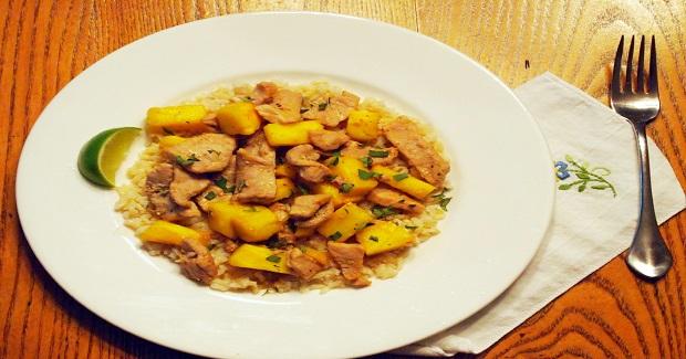 Pork And Pineapple Stir Fry Recipe