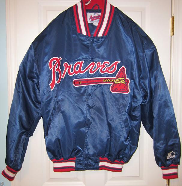 Vintage Sports Apparel Atlanta Braves Starter Jacket - Sold