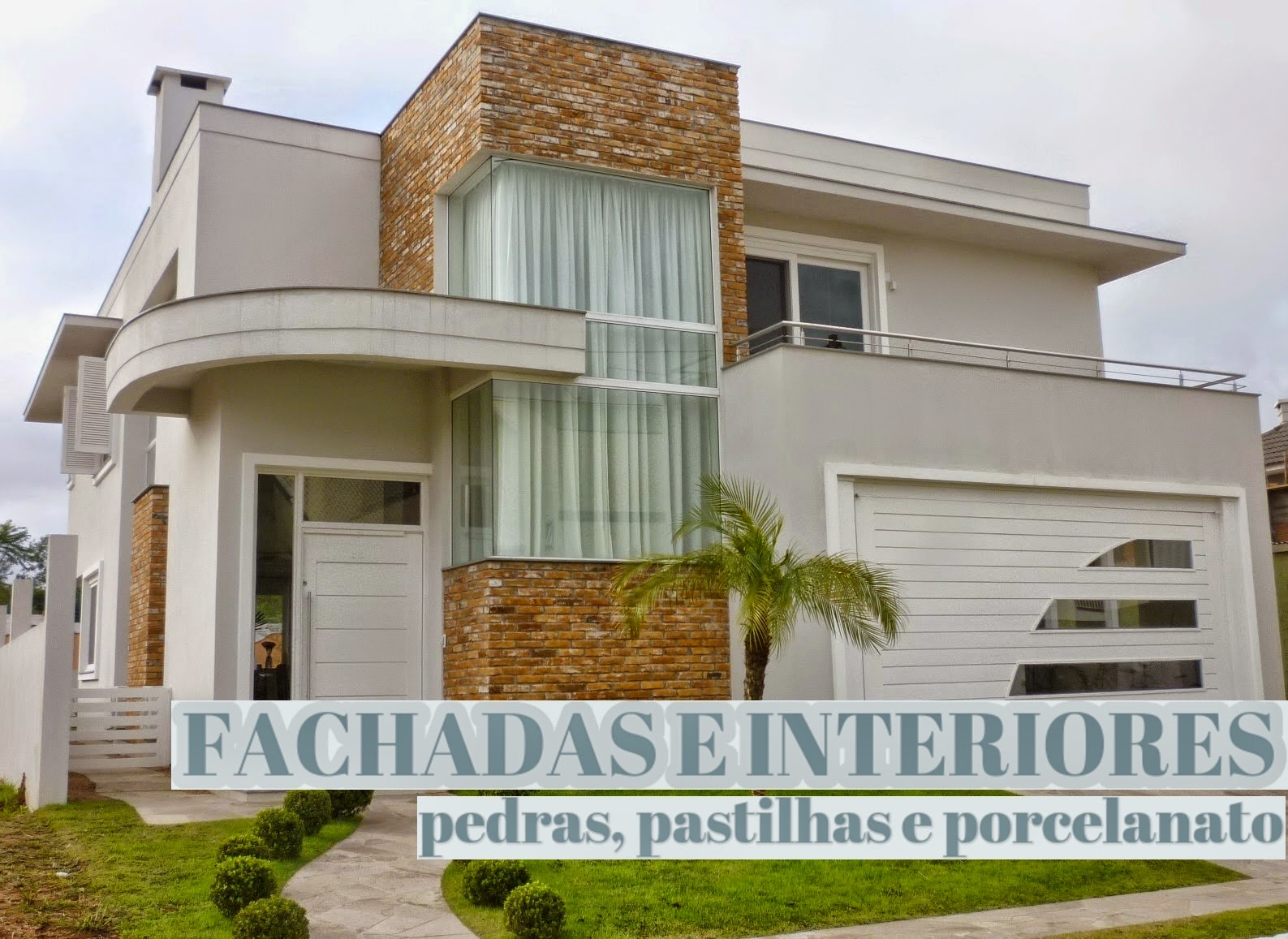 Construindo minha casa clean pedras decorativas for Casas decorativas interiores